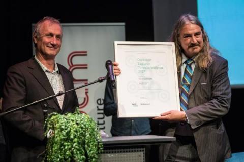 Ilja Leonard Pfeijffer, winnaar Taalunie Toneelschrijfprijs 2017